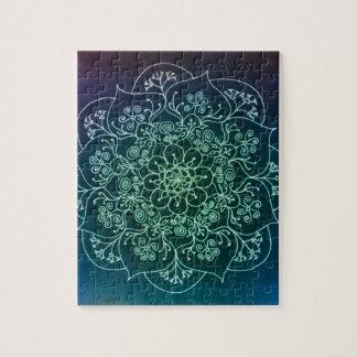 Blessed Rain Mandala Jigsaw Puzzle