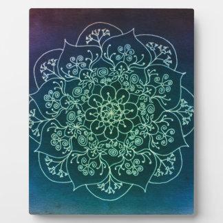 Blessed Rain Mandala Plaque