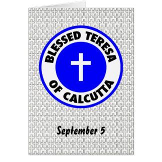 Blessed Teresa of Calcutta Greeting Card