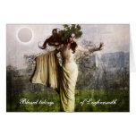 Blessed Tidings of Lughnasadh Greeting Cards