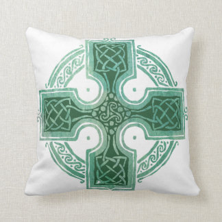 Blessed to be Irish Celtic Cross Cushion