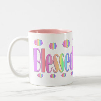 Blessed Two-Tone Coffee Mug