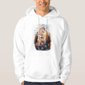 Blessed Virgin Mary and Infant Child Jesus Hoodie