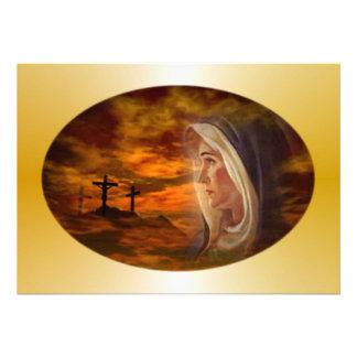 Blessed Virgin Mary Calvary Invitation