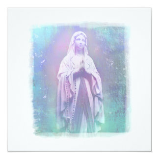 Blessed Virgin Mary Invitation