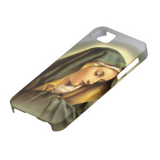 Blessed Virgin Mary - Mother of God iPhone 5 Covers