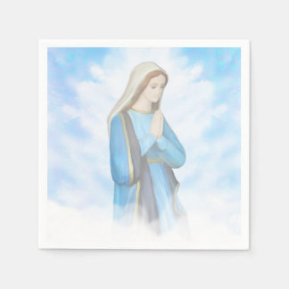 Blessed Virgin Mary Napkin Disposable Serviettes