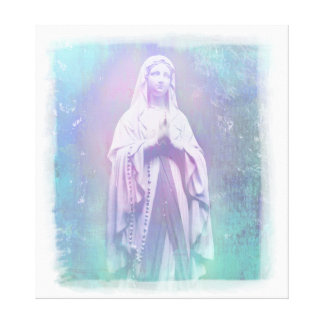Blessed Virgin Mary Stretched Canvas Print