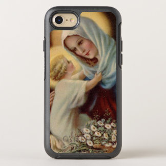 Blessed Virgin Mary with Baby Child Jesus OtterBox Symmetry iPhone 7 Case