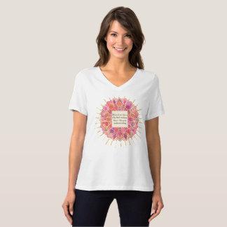 Blessed Wisdom Mandala Circle T-Shirt
