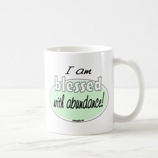 Blessed with Abundance Mug