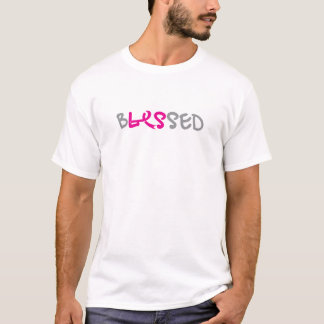 bLESsed wmns/blk front&back T-Shirt
