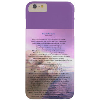 Blessed woman phone case