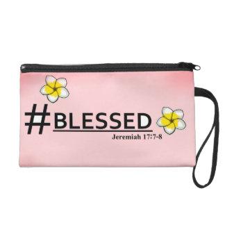 #Blessed Wristlet Purse