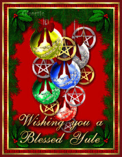 Wicca Christmas.Wiccan Cards Zazzle Uk