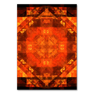 Blessing Abstract Art Table Card