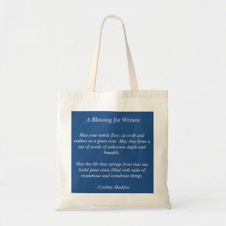 Blessing for Writers Tote Budget Tote Bag