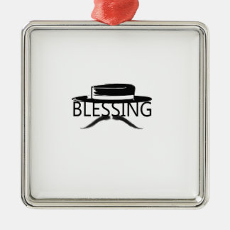 Blessing in Disguise copy.jpg Silver-Colored Square Decoration