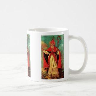 Blessing Of St. Nicholas By Guardi Francesco Mugs