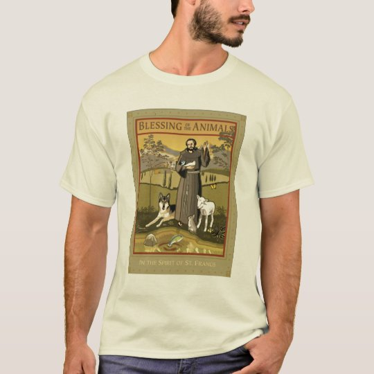 BLESSING OF THE ANIMALS POSTER T-Shirt