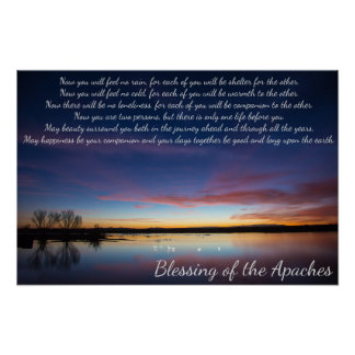 Blessing of the Apaches (poster) Poster