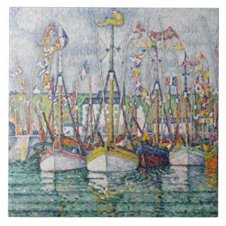 Blessing of the Tuna Fleet at Groix, 1923 Tile
