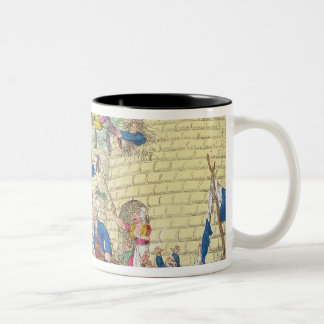 Blessings of Britain - or Swarm of Tax Two-Tone Coffee Mug