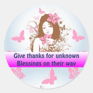 BLESSINGS sticker