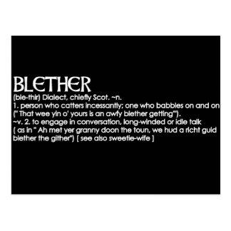 Blether Postcard