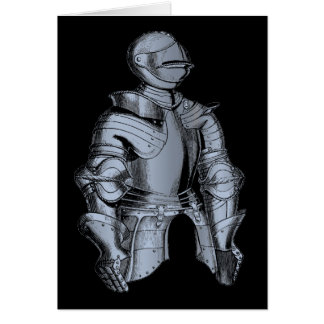 Bleu Knight Blank Card