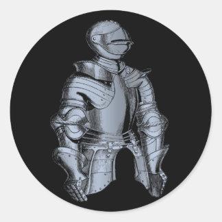 Bleu Knight Sticker
