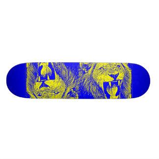 bleu lion 20 cm skateboard deck