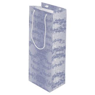 bleu wine gift bag