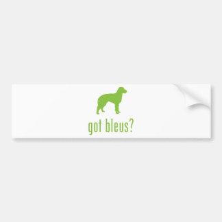 Bleus de Gascogne Car Bumper Sticker