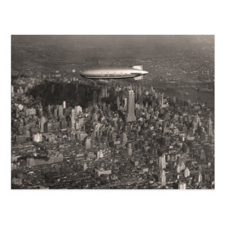Blimp Over New York Postcard - 1746493.jpg