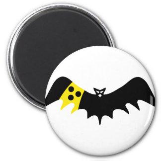 blind bat icon 6 cm round magnet