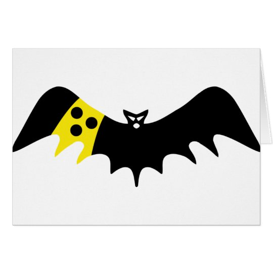 blind bat icon card