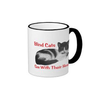 Blind Cat Mug
