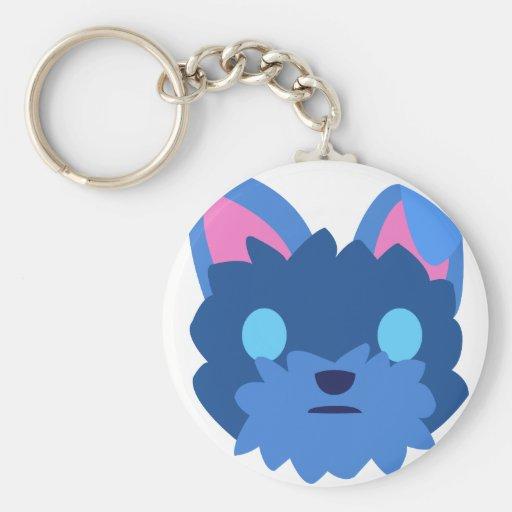 Blind Dog Keychain