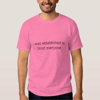 blind everyone tshirts
