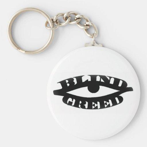 Blind Greed Key Chain