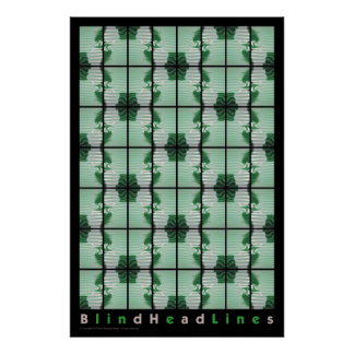 Blind Head LInes poster