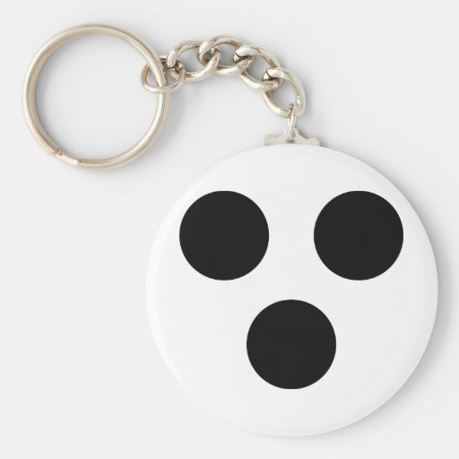 blind icon key chains