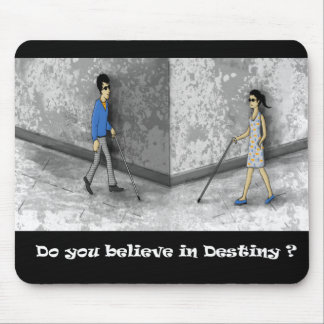 Blind Love Mouse Pad