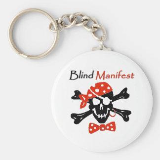 Blind Manifest Keychain