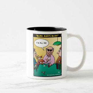 """Blind Man's Bluff"" Mugs"