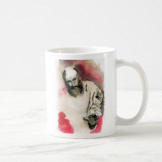 Blind prophet basic white mug