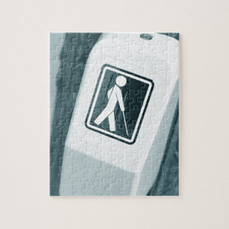 Blind sign design jigsaw puzzle