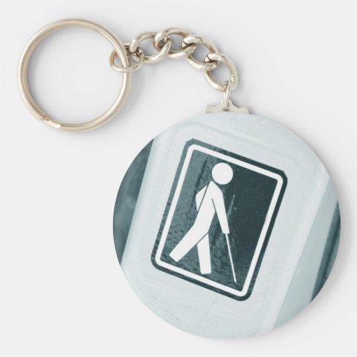 Blind sign design keychains