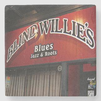 Blind Willies Virginia Highland Atlanta Marble Sto Stone Coaster